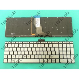 Teclado HP Envy 15-AE Prata Backlit PT