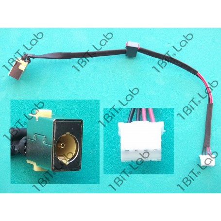 DC Jack Acer Aspire 5742 5250 5741 Travelmate eMachines Packard Bell 50.PTD02.001 com cabo 4 Pin