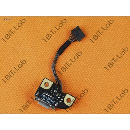 DC Jack Apple MacBook Pro A1278 A1286 820-2565-A com cabo 5 Pin