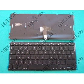 "Teclado Apple Macbook Air 13"" A1369 2011 A1466 2015 Backlit PT"