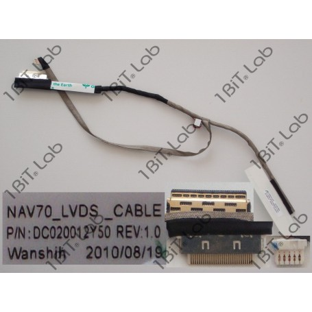 Cabo flat LCD Acer Aspire One D260 DC020012Y50