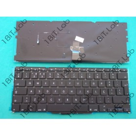 "Teclado Apple Macbook Air 11"" A1370 2011 A1465 2016 Backlit PT"