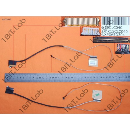 Cabo flat LCD HP Pavilion 15-AB 15-AB121DX 15-AB065TX With Touch DDX15CLC040 40 Pin