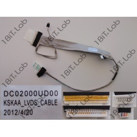 Cabo flat LCD Toshiba Satellite A500 A505 DC02000UD00 Inverter