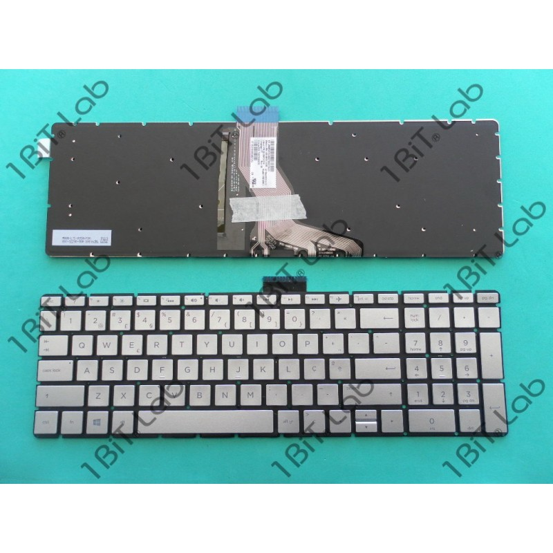 English Keyboard For HP 15m-bp112dx 15m-bp011dx 17-ar050wm