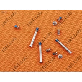 Kit 10 Parafusos Cover Bottom Base Apple A1278 A1286 A1297
