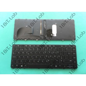 Teclado HP EliteBook 840 G3 840 G4 Com Track stick Backlit PT