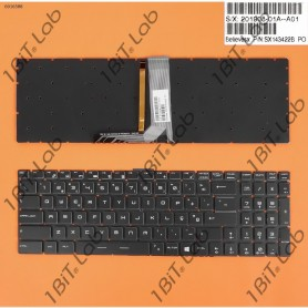 Teclado MSI GT72 GS60 GS70 WS60 GE72 GE62 Full color Backlit PT