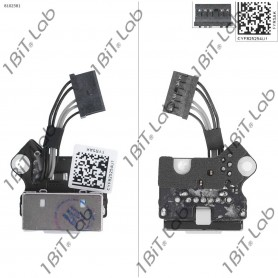 DC Jack Apple MacBook Pro A1398 820-3109-A com cabo 5 Pin